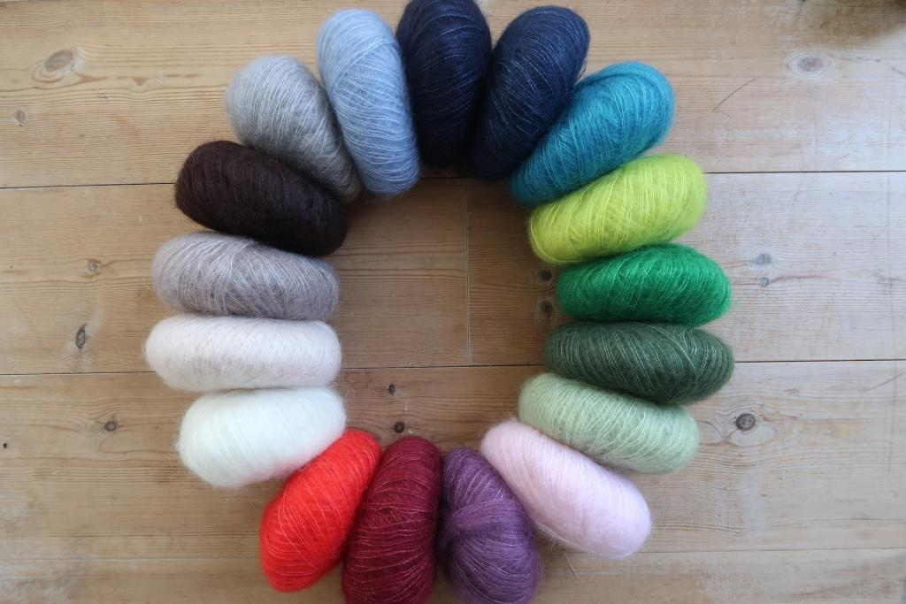 Mohair silk