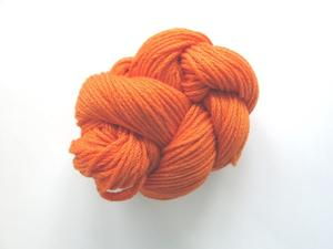 Eco cotton tjock, orange
