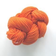 Eco cotton tjock, orange