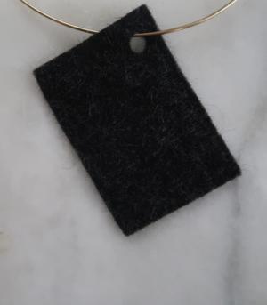 Filt 100% ull - 15x20 cm Natur G 1-9