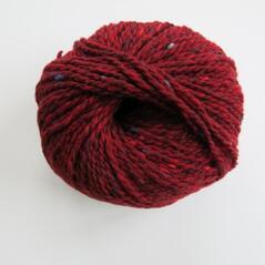 Donegal tweed mörkröd