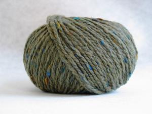 Tweed kakigrön