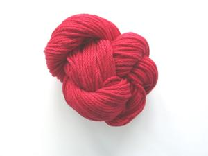 Eco cotton tjock, klarröd kall