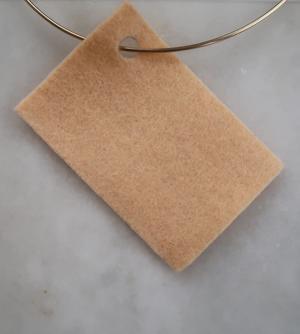 Filt 100% ull - 15x20 cm Orange 09