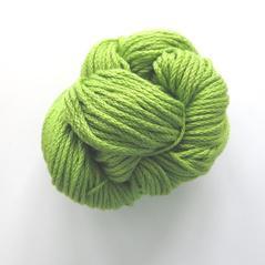 Eco cotton tjock, limegrön