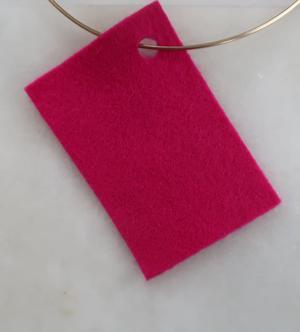 Filt 100% ull - 15x20 cm Rosa 29