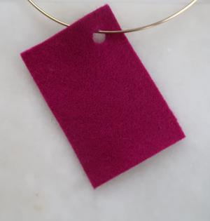 Filt 100% ull - 15x20 cm Rosa 30