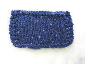 Aran tweed Indigo