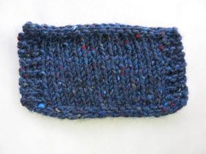 Aran tweed Mörk midnattsblå
