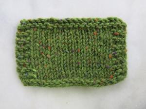 Aran tweed Gräsgrön