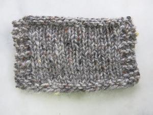 Aran tweed Mullvadsgrå