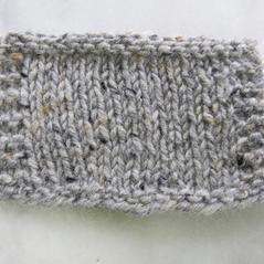 Aran tweed Silvergrå