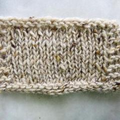 Aran tweed Ljus beige