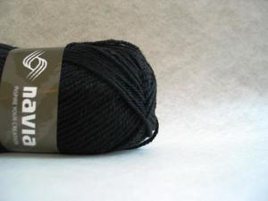 Navia  Sock svart 506