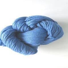 Eco cotton tjock, mellanblå