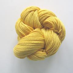 Eco cotton tjock, ljusgul