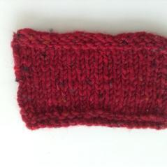 Aran tweed Röd, kall
